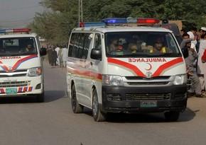 Pakistanda ağır yol qəzasında 11 nəfər həlak olub