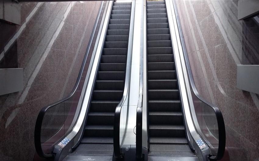 Builin əvvəlindən Bakıda nə qədər eskalator təmir edilib?