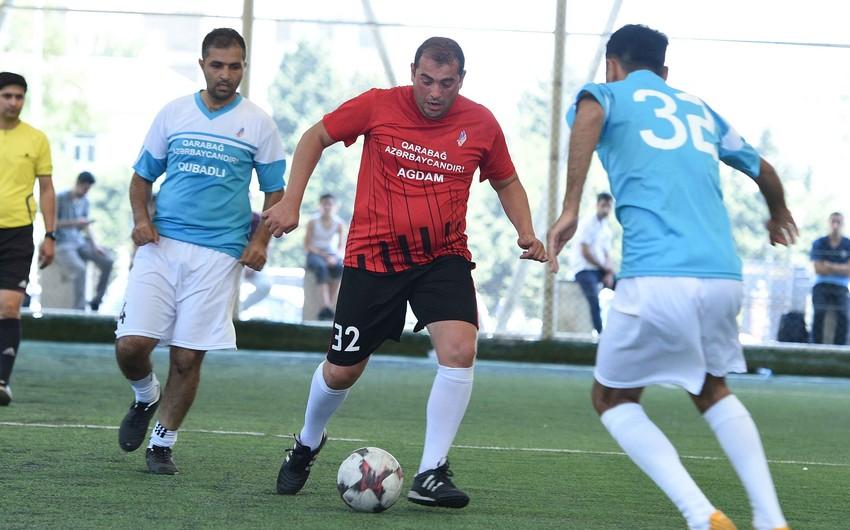 Qarabağ Azərbaycandır! futbol turnirinin finalçıları bəlli oldu