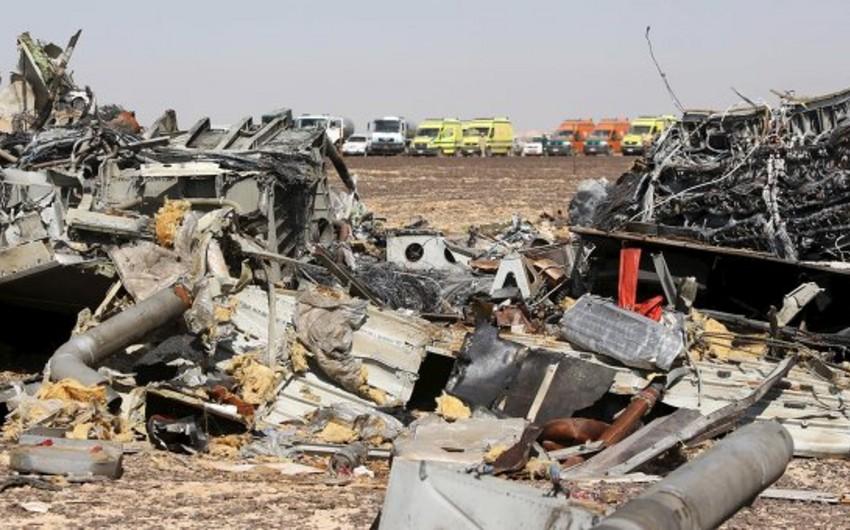 Rusiya Airbus A-321 təyyarəsinin qəzaya uğramasının səbəbini rəsmən açıqlayıb