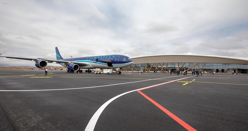 AZAL: Füzuli Hava Limanı artıq beynəlxalq uçuşlar üçün açıqdır