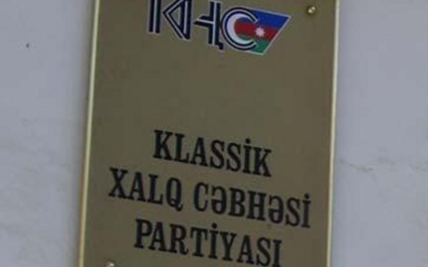 KXCP-də qurultayla bağlı narazılıq yaranıb