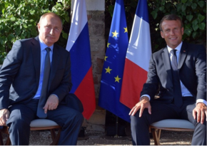 Putin and Macron discuss situation in Lebanon