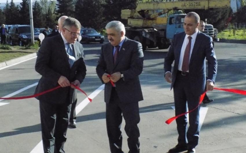 SOCAR prezidenti Tbilisidə yeni qazdoldurma məntəqəsinin açılışında iştirak edib - FOTO