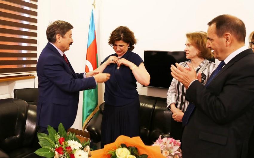 Afaq Məsud TÜRKSOY-un medalına layiq görülüb