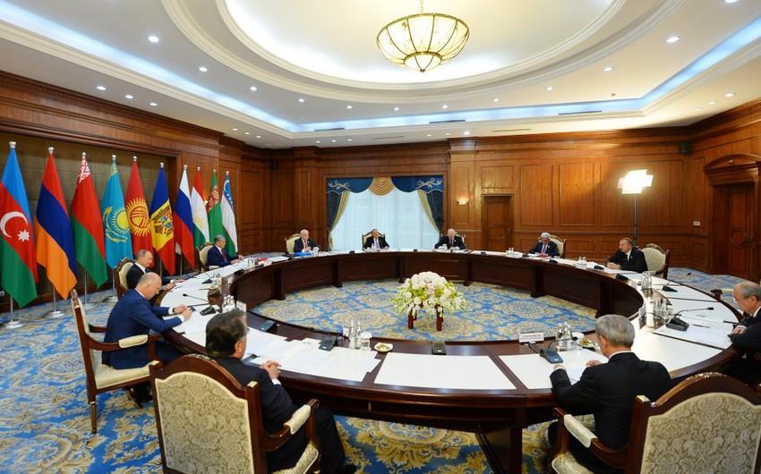 MDB-nin 25 illiyi ilə bağlı dövlət başçılarının Bəyanatı qəbul olunub