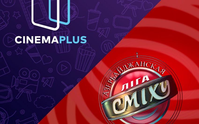 """CinemaPlus """"Ліга сміху Azərbaycan"""" yumoristik şousunun tərəfdaşı olub - VİDEO"""