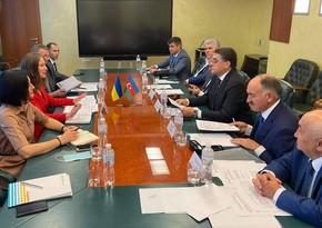 Ukrayna ilə yükdaşımaların inkişaf perspektivləri müzakirə edilib
