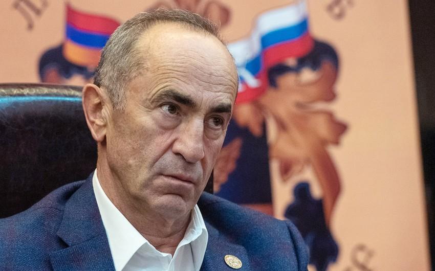 Кочарян будет участвовать в выборах парламента Армении во главе блока партий