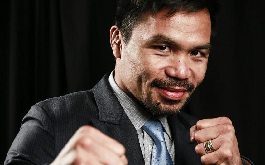 Filippinli boksçu Pakyao prezidentliyə namizəd olacaq