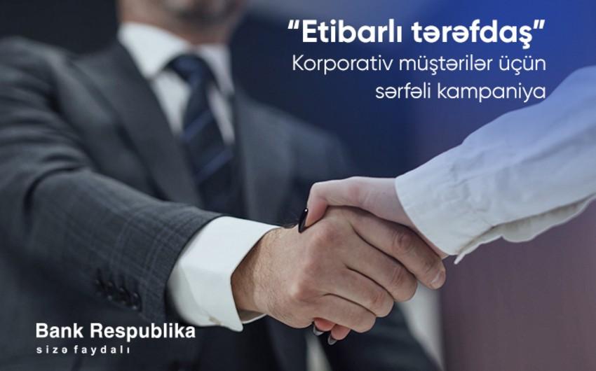 """Evdən çıxmadan, sərfəli şərtlərlə """"Bank Respublika""""da hesab aça bilərsiniz!"""