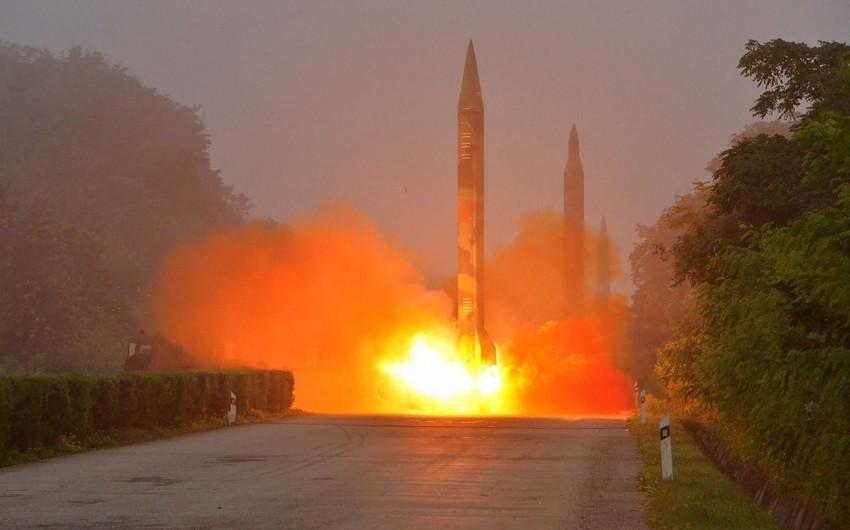 Cənubi Koreya ballistik raketin sınağını keçirib
