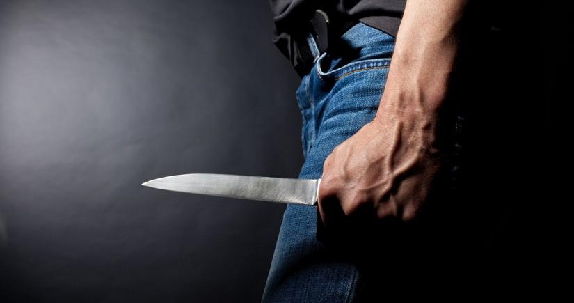 Bakıda bıçaqla adam öldürən gənc tutuldu