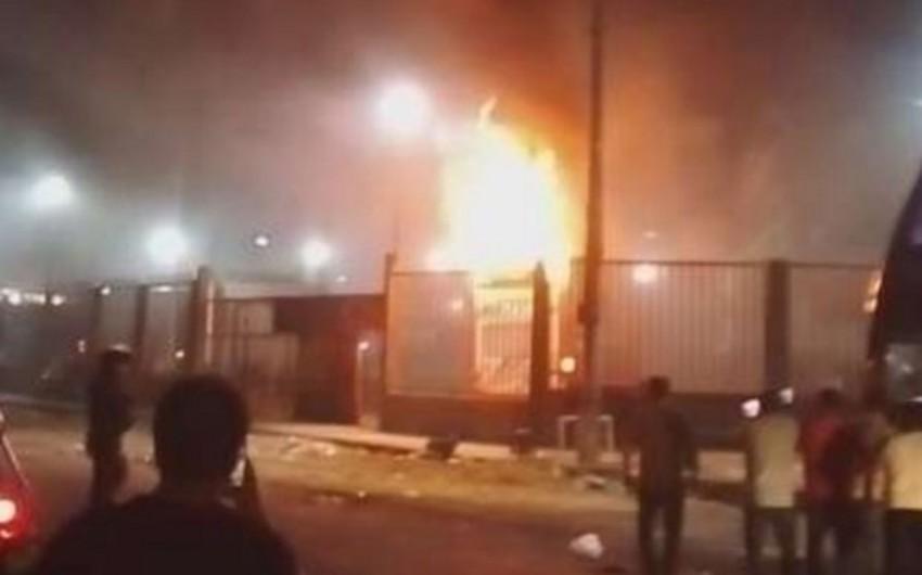 Не менее 20 человек стали жертвами возгорания автобуса в Перу