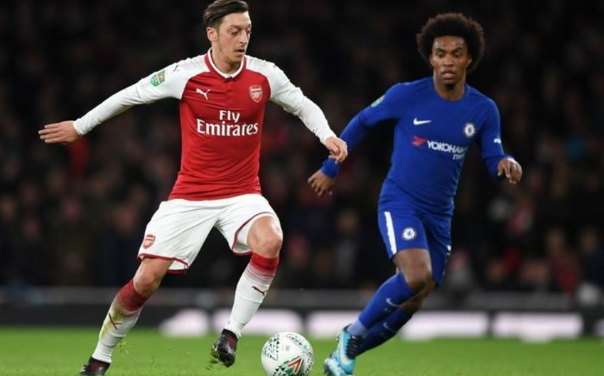 Arsenal Çelsini məğlub edərək İngiltərə Liqa Kubokunun finalına çıxıb - VİDEO
