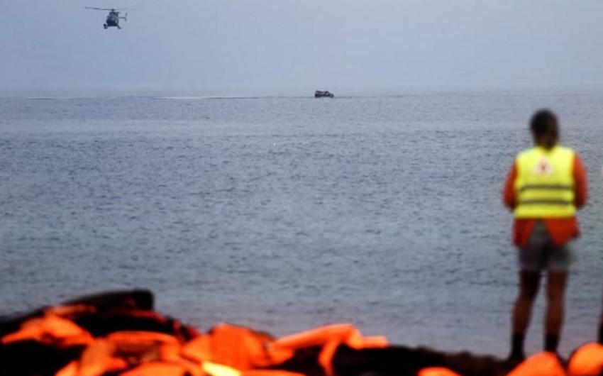 Yunanıstanda göyərtəsində mühacirlər olan iki gəmi batıb, 21 nəfər ölüb