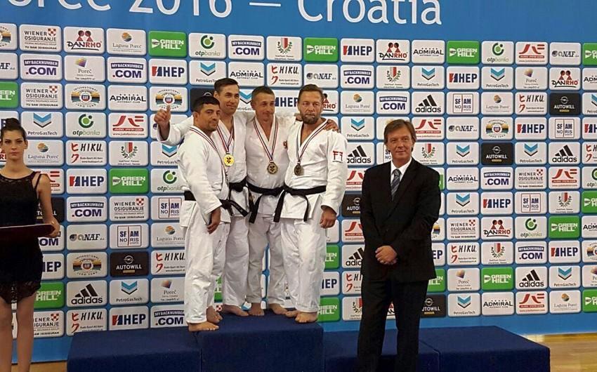 Daha iki Azərbaycan cüdoçusu Avropa çempionatında medal qazanıb