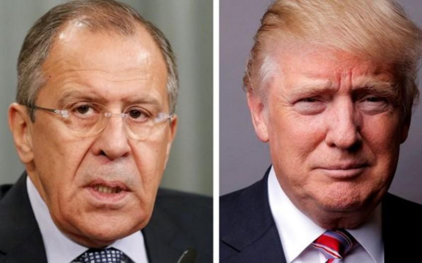 Tramp və Lavrov bu gün Ağ evdə görüşəcək