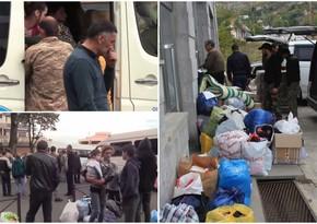 Armenians flee Karabakh