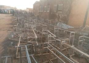 Пожар в школе Нигере, есть погибшие школьники