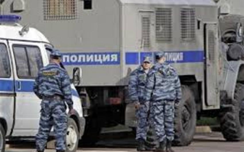 Rusiyada qvardiya əməkdaşlarına hücum etmiş dəstənin bütün üzvləri saxlanılıb - YENİLƏNİB-2