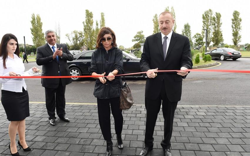 Состоялось открытие Лянкяранского олимпийского спортивного комплекса