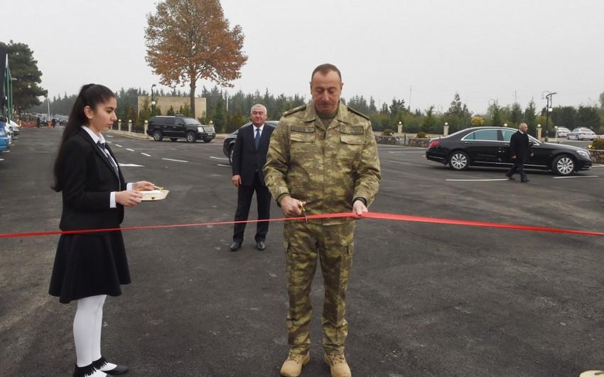 Horadiz şəhərində yeni avtovağzal kompleksi istifadəyə verilib