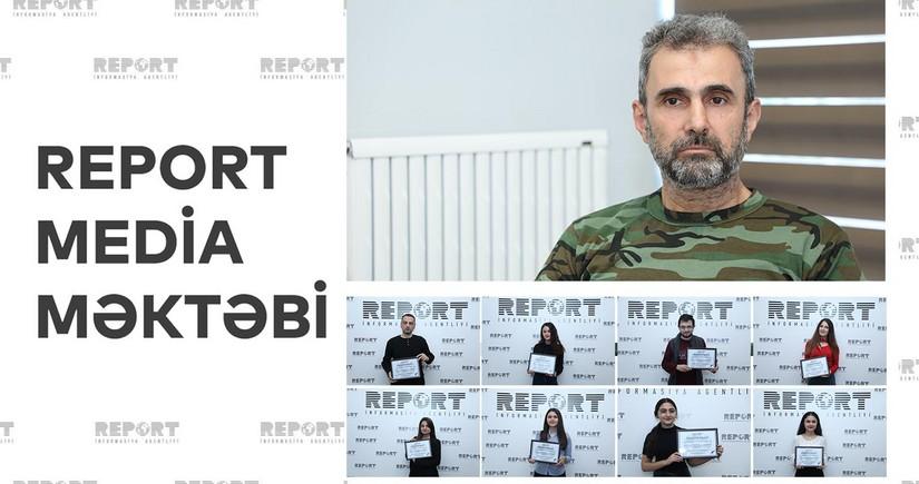 """İsmayıl Rafiqoğlu: """"Report Media Məktəbinin bir üzvü hazırda cəbhədə düşmənlə döyüşür"""""""