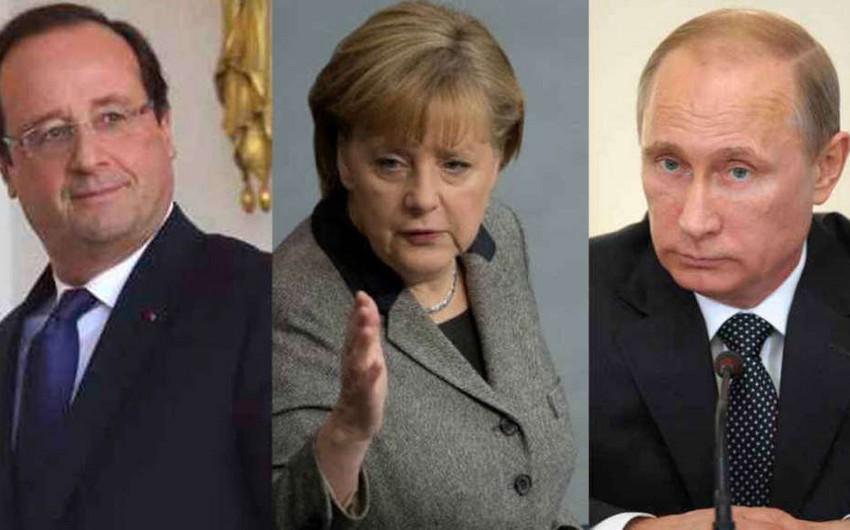 Expectations of the meeting Merkel-Hollande-Putin - OPINION