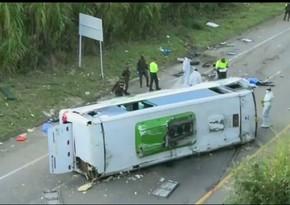 В Колумбии в ДТП с участием автобуса пострадали не менее 20 человек
