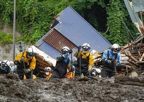 Japan landslide: Death toll reaches 13