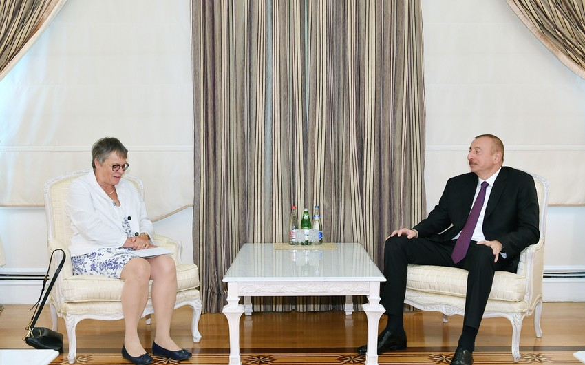 President Ilham Aliyev receives delegation led by PACE President