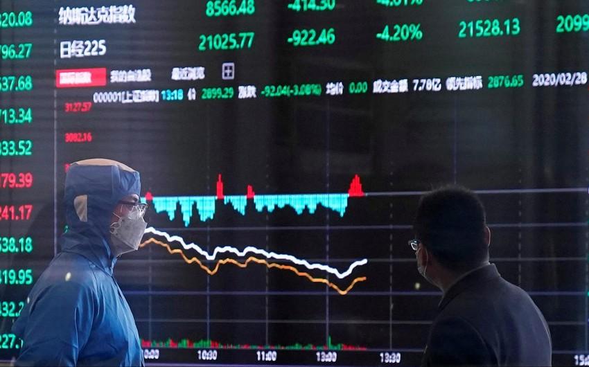Çinin səhm bazarının dəyəri 10 trilyon dollara çatıb