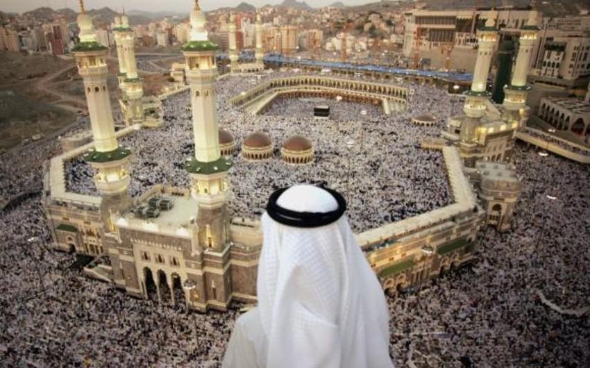 Более 1,34 миллиона паломников прибыли в Мекку для совершения хаджа в этом году