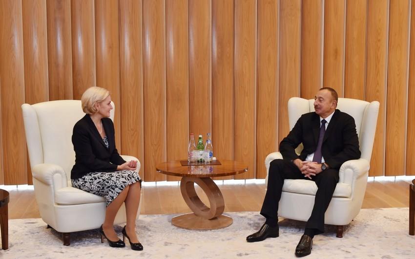 Azərbaycan Prezidenti Rusiya Hökuməti sədrinin müavinini qəbul edib - ƏLAVƏ OLUNUB