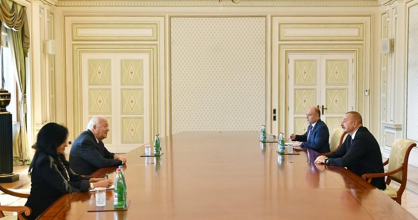 Ilham Aliyev receives High Representative for UNAOC