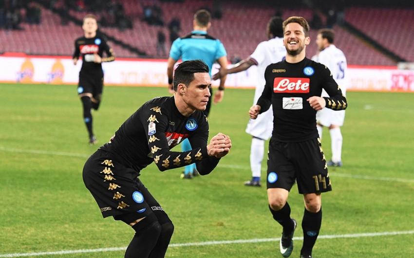 Наполи победил Фиорентину и вышел в полуфинал Кубка Италии по футболу - ВИДЕО