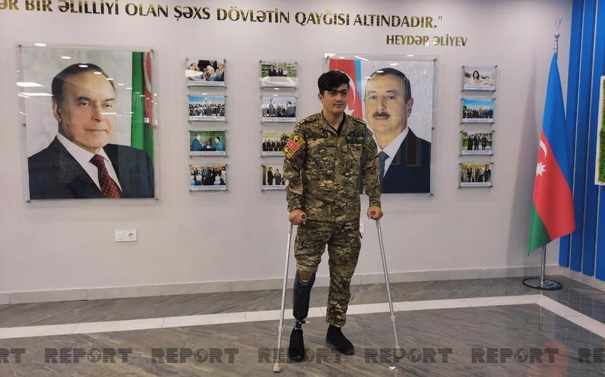 Daha yetmiş qaziyə son nəsil protezlər verilib