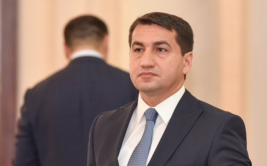 Hikmat Hajiyev: Relations between Azerbaijan and Russia are developing successfully in the spirit of strategic partnership