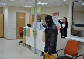 Gürcüstanda banka basqın terror aktı kimi qiymətləndirilib
