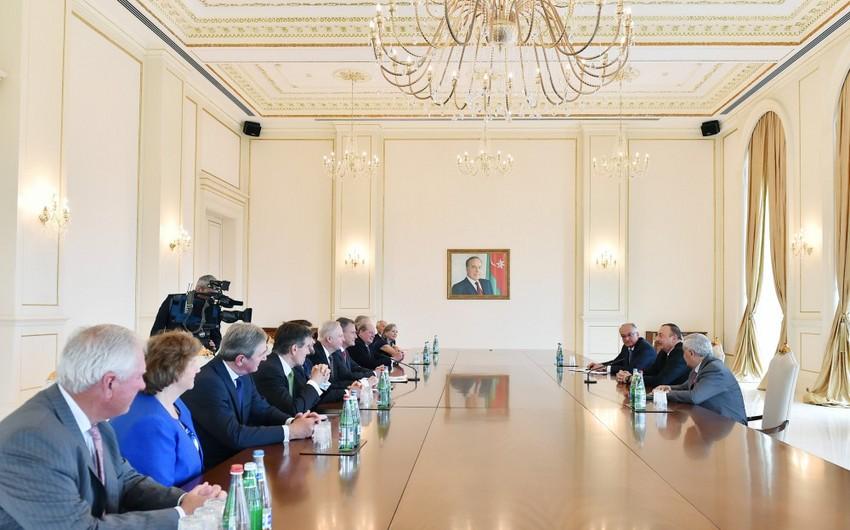Prezident İlham Əliyev BP-nin Direktorlar Şurasının sədrini qəbul edib