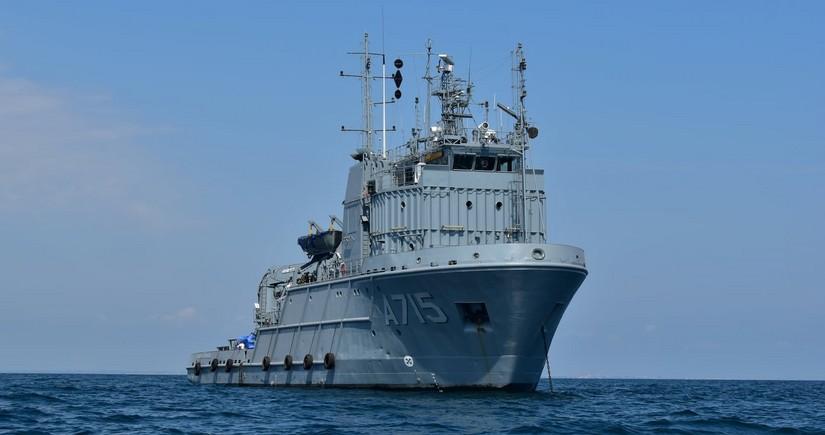 Военнослужащие Азербайджана и США участвуют в международных учениях в Черном море