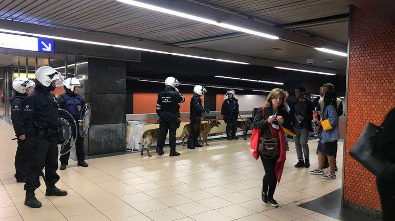 В Брюсселе произошли беспорядки после проигрыша сборной Бельгии