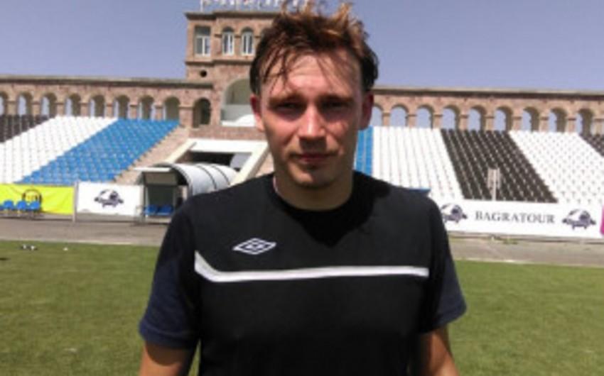 İnterin sabiq futbolçusu Ermənistan çempionatında çıxış edəcək