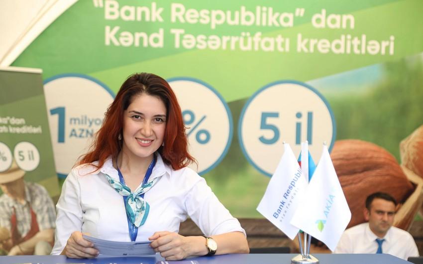 """""""Bank Respublika"""" və AKİA-nın regionlarda keçirdiyi kredit yarmarkaları böyük maraqla qarşılanıb"""