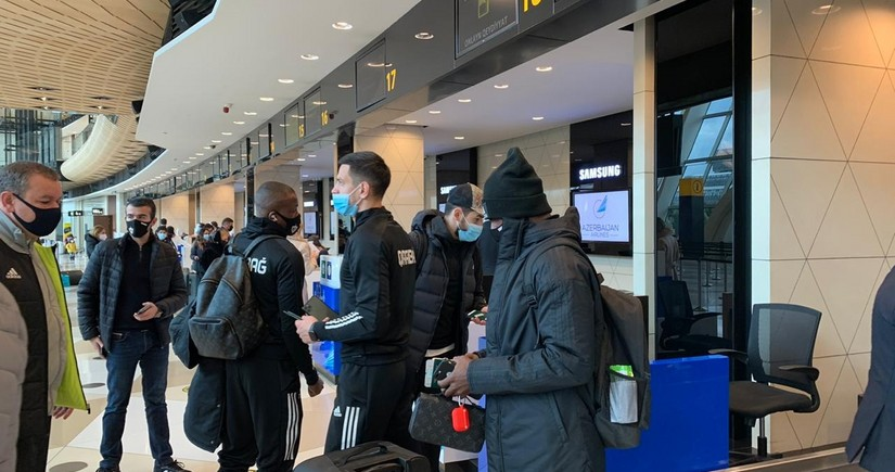 Qarabag leaves for Turkey