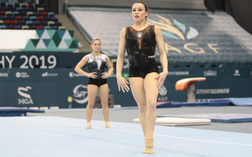 İtaliyalı gimnastlar Bakıya xüsusi razılıq əsasında gələcək