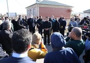 Иностранные дипломаты прибыли в город Джебраил
