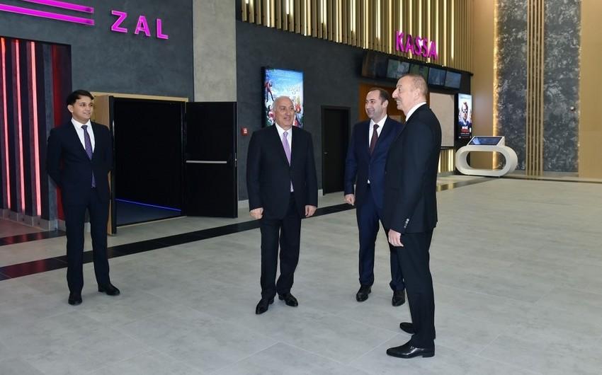 """Sumqayıtda  """"CinemaPlus"""" şəbəkəsinin """"Nizami"""" kinoteatrının yeni binasının açılışı olub - VİDEO - YENİLƏNİB"""