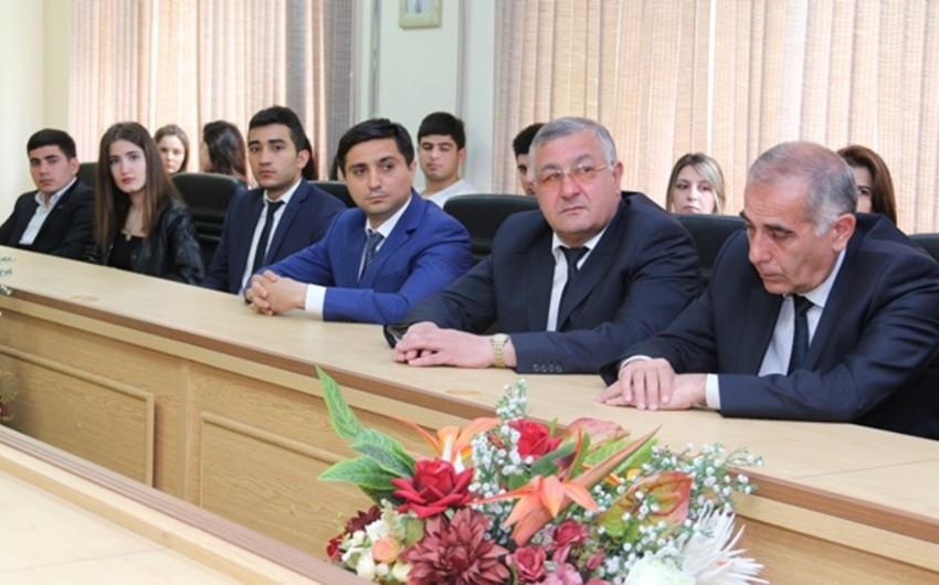 """Kooperasiya Universitetində """"Multikulturalizmin Azərbaycan modeli"""" mövzusunda tədbir keçirilib"""